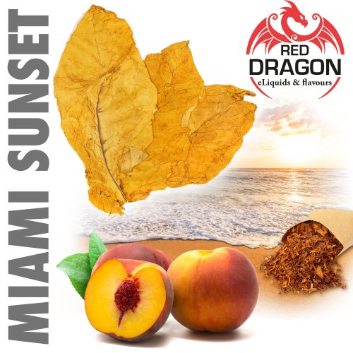 Red Dragon ® Premium-Aroma - Miami Sunset